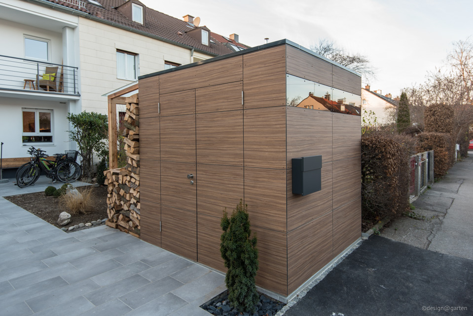 Gartenhaus Augsburg gartenhaus in augsburg - dekor french walnut   design@garten